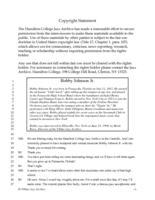 Bobby Johnson Jr. interviewed by Monk Rowe, Ellenville, New York, June 23, 1998 [transcript]