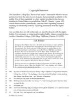 Jack Palmer interviewed by Monk Rowe, Clinton, New York, September 24, 1997 [transcript]
