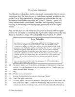 Lew Tabackin interviewed by Monk Rowe, New York City, New York, January 17, 1999 [transcript]