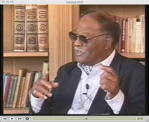 Clark Terry interviewed by Joe Williams and Michael Woods, Clinton, New York, May 19, 1995 [video]