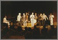 Roger Kellaway, Conte Candoli, Pete Candoli, Carson Smith, Buddy DeFranco, Butch Miles, Red Holloway, Carl Fontana and Slide Hampton [photograph, front]