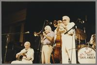 Herb Ellis, Conte Candoli and Pete Candoli [photograph, front]
