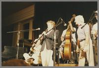 Herb Ellis, Bob Wilber, Major Holley and Conte Candoli [photograph, front]