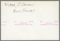 Herb Ellis, Bob Wilber, Major Holley and Conte Candoli [photograph, back]