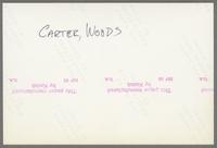 Phil Woods and Benny Carter [photograph, back]