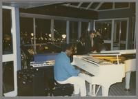 George Cables, Unknown drums and Pat Senatore [photograph, front]