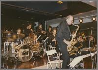 Don Menza with Louis Bellson's Band [photograph, front]