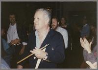 Bob Rosengarden, Jeff Hamilton and Butch Miles [photograph, front]