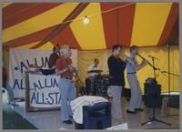 Hamilton Alumni Jazz All Stars [photograph, front]