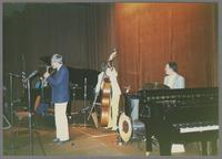 Jim Galloway, Milt Hinton, Butch Miles [photograph, front]