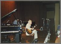 Butch Miles and Herb Ellis [photograph, front]