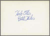 Butch Miles and Herb Ellis [photograph, back]