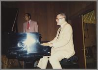 Gus Johnson and Ralph Sutton [photograph, front]