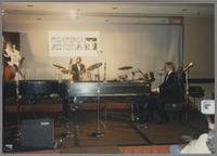 Milt Hinton, Gus Johnson and Ralph Sutton [photograph, front]
