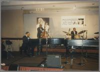 Jay McShann, Milt Hinton and Gus Johnson [photograph, front]