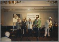 Dave McKenna, unknown musicians, Buddy Tate and Al Grey [photograph, front]