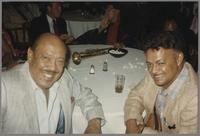 Marshall Royal and Plas Johnson [photograph, front]