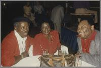 Jimmy Cheatham, Jeannie Cheatham and Jay McShann [photograph, front]