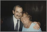 Kenny Davern and Mrs. Milt Fillius [photograph, front]