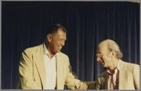 Paul Smith and Dick Hyman [photograph, front]