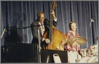 Milt Hinton and Butch Miles [photograph, front]