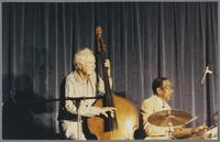 Bob Haggart and Gus Johnson [photograph, front]