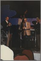 Kenny Davern, Milt Hinton, Bud Freeman, and Warren Vache [photograph, front]