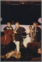 Red Mitchell, Bob Wilber, Terry Clarke and Spike Robinson [photograph, front]