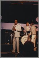 Buddy Tate, Butch Miles and Joe Newman [photograph, front]