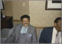 Ernie Andrews and Jay McShann [photograph, front]