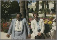 Jay McShann and Terry Clarke [photograph, front]