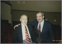 Bud Freeman and Kenny Davern [photograph, front]