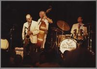 Al Cohn and Bob Haggart [photograph, front]