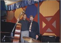 John Clayton and Jeff Hamilton [photograph, front]