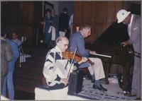 Johnny Frigo, Dave McKenna and Al Grey [photograph, front]