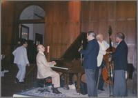 Dick Hyman, Kenny Davern and Bob Haggart [photograph, front]