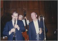 Kenny Davern, Bob Haggart and George Masso [photograph, front]