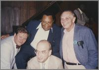 Warren Vache, Jay McShann, Dick Hyman and Dave McKenna [photograph, front]