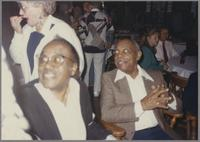 """Harry """"Sweets"""" Edison and Benny Carter [photograph, front]"""