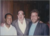 John Clayton, Duffy Jackson and Jeff Hamilton [photograph, front]