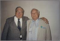 Milt Fillius Jr. and Dick Gibson [photograph, front]