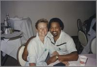 Janie and Gene Harris [photograph, front]