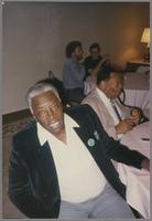 Joe Williams and Jay McShann [photograph, front]