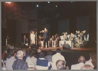 Frank Foster, Byron Stripling and the Count Basie Orchestra [photograph, front]