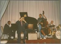 Jay McShann, Doc Cheatham and John Clayton [photograph, front]