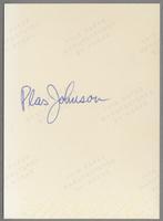 Plas Johnson [photograph, back]