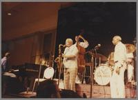 Ross Tompkins, Harold Ashby, John Clayton and Joe Newman [photograph, front]