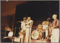 John Clayton, Joe Newman and Benny Powell [photograph, front]