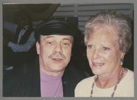 Phil Woods and Sunnie Sutton [photograph, front]