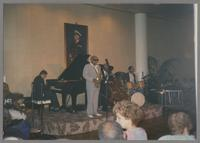 Benny Carter and band [photograph, front]